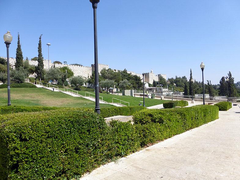Иерусалим. Парк Тедди