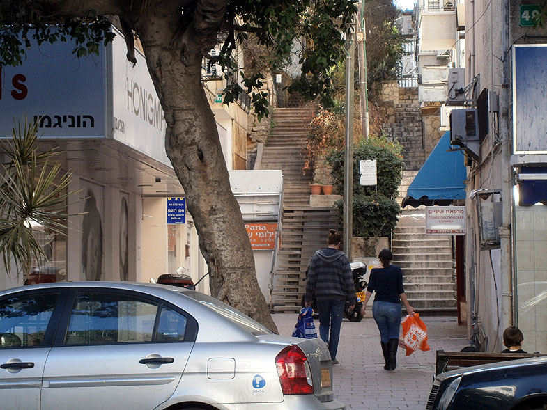 Рамат-Ган. Улица Бялика