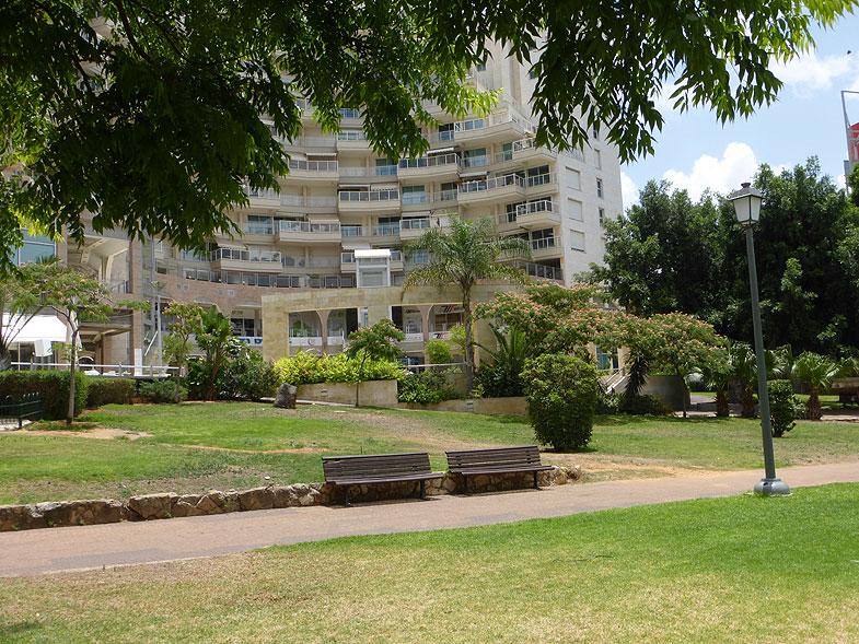 Городской сад Ришон-ле-Циона