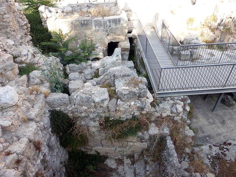 Иерусалим. Арка Робинсона