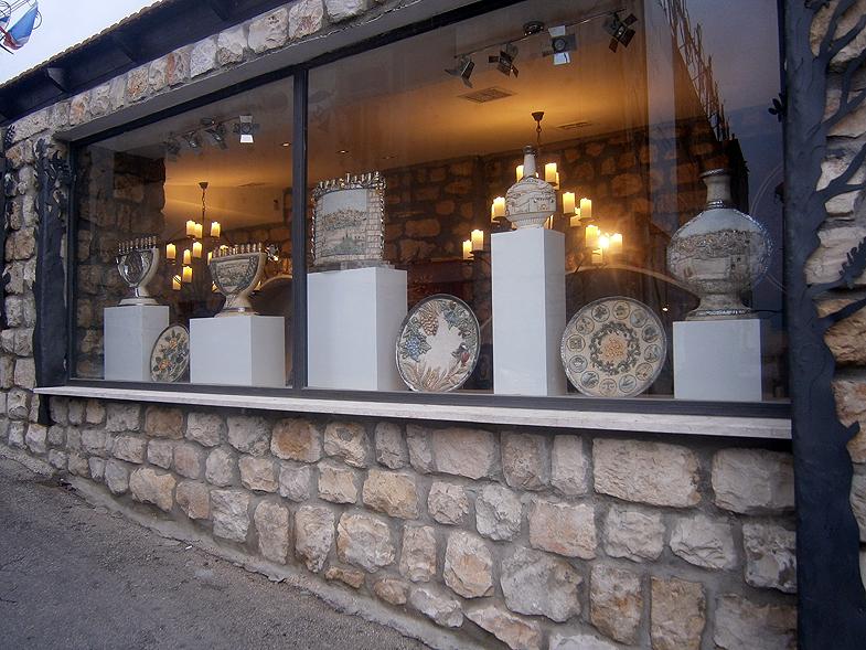 Цфат. Галереи Старого города