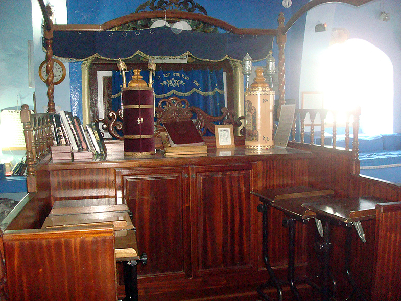 Safed. Rabbi Yosef Karo Synagogue