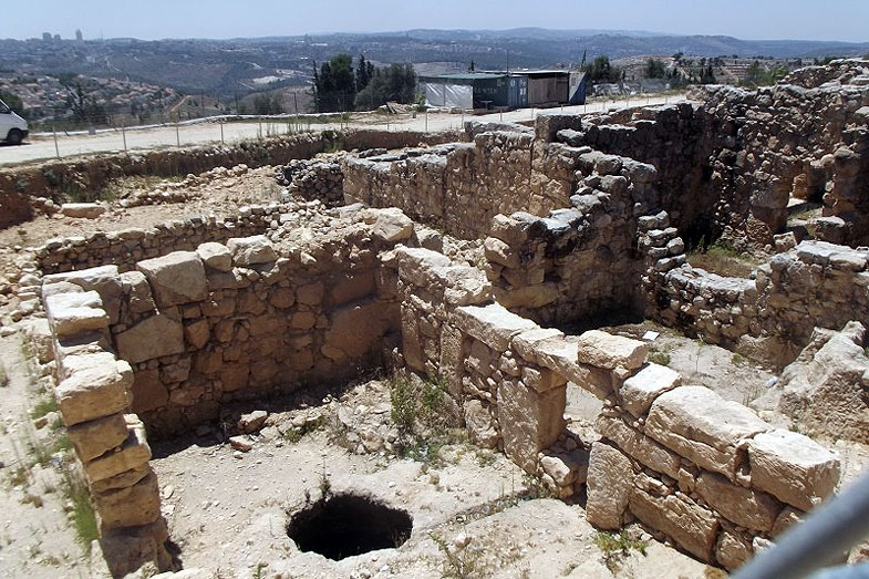 Иерусалим. Могила пророка Шмуэля