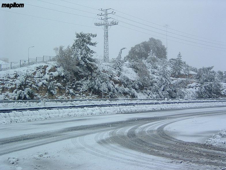 Snowy Jerusalem