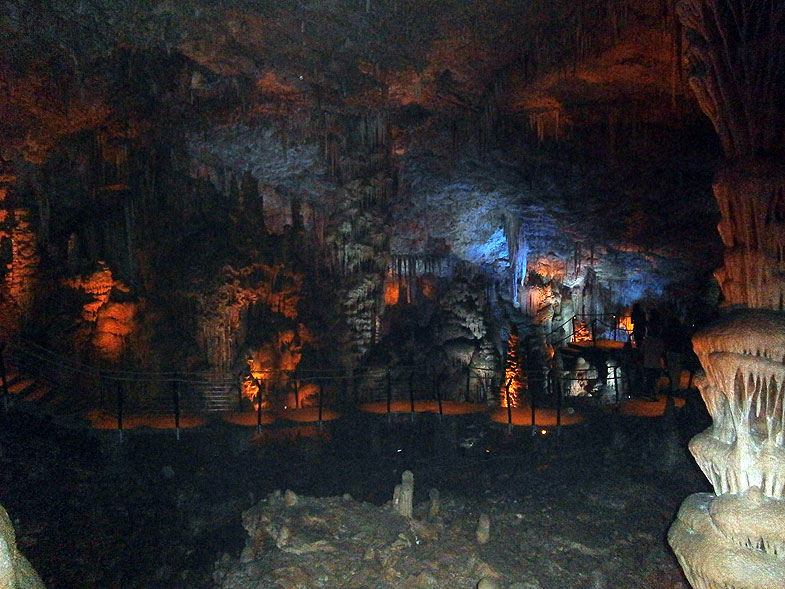 Stalactite Cave near Beit Shemesh