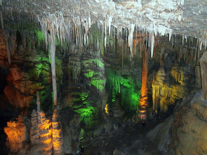 Сталактитовая пещера возле Бейт-Шемеша