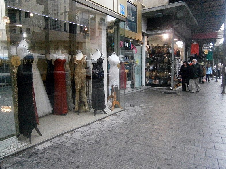Тель-Авив. Улица Алленби