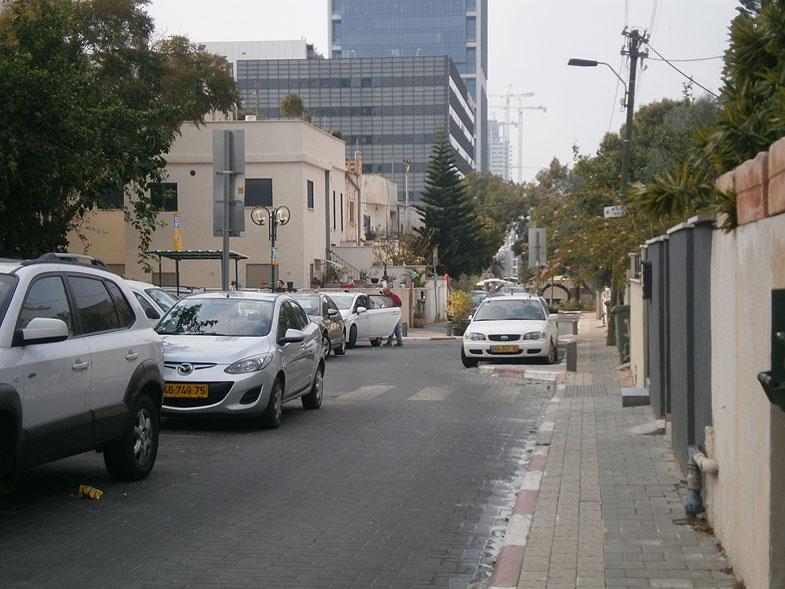 Тель-Авив. Район Бицарон