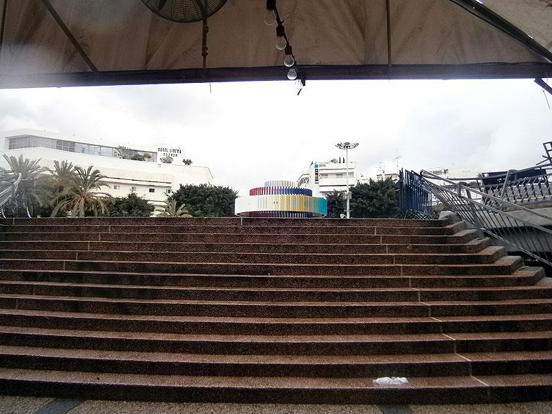 Тель-Авив. Площадь Дизенгоф