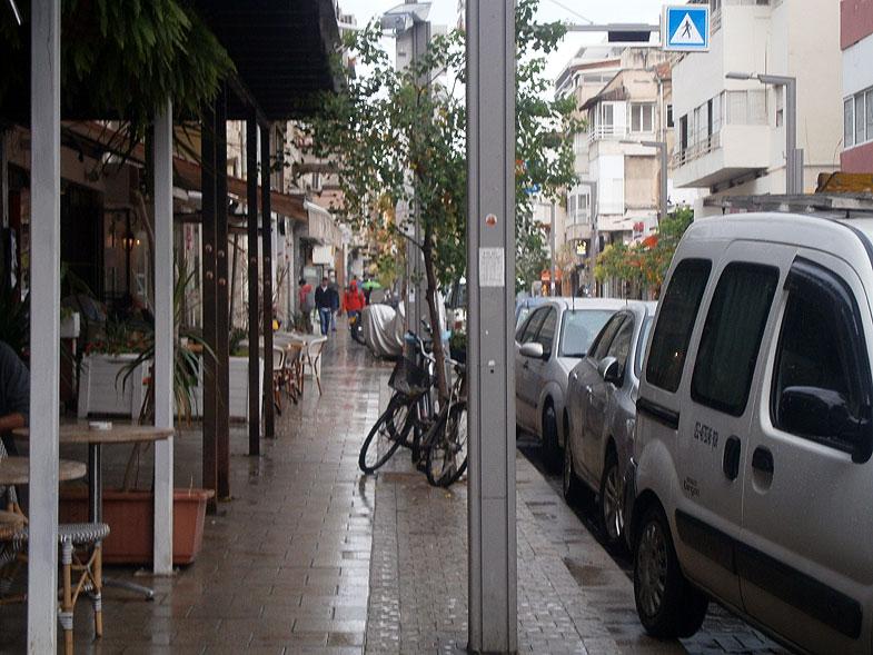 Тель-Авив. Улица Шенкин