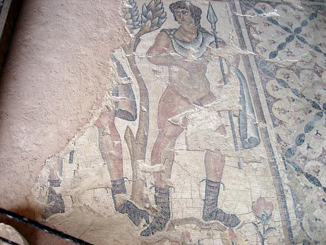 Мозаика в Ципори