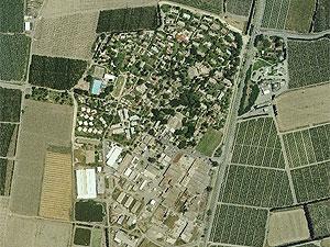 Афиким. Photo: map