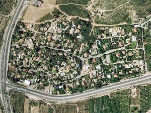 Beit Oved. Photo: map