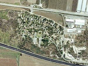 HaBonim. Photo: map
