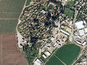 Kfar HaMaccabi. Photo: map