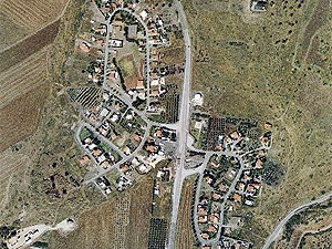 Poria-Kfar Avoda. Photo: map